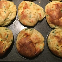 Cheddar-Chive Popovers