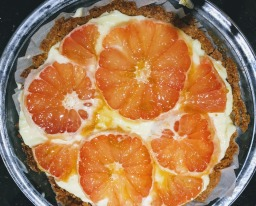 Ginger Grapefruit Tart