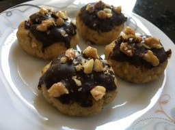 Chocolate-Covered Honey Cookies