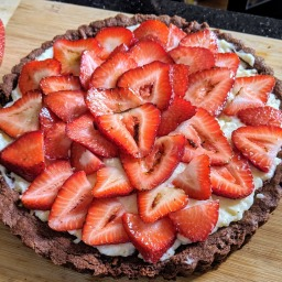 Strawberry Peppermint Tart