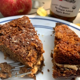 Apple & Peanut Butter Cake