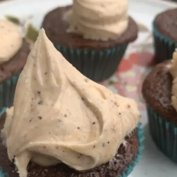 Chocolate Chai Cupcakes